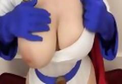 Larkin Love  - Power Girl Titty Fuck