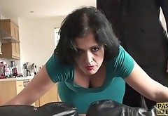 Spanked MILF Wants It Rough And Takes Him In Her Asshole