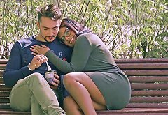 Keysha And Sheyla Are Curvy Chicks In Need Of A Man's Prick