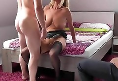 Extremely Hot Homemade Cuckold Video