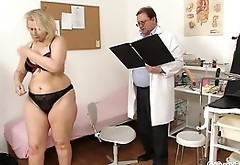 Gynecologist And His Mature Client In Video