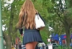 Amazing Schoolgirl Blonde Upskirt Video Upornia Com