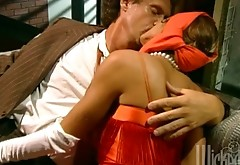 Brown-haired Chasey Lain Gets Enjoys Doggystyle Fucking