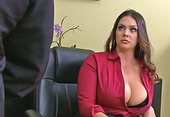 Alison Tyler Has Ceo 039 S Son Eat Her Hungry Pussy Underneath Her Desk