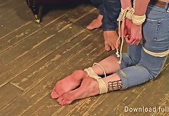 Vika Tied Up In Different Poses Porn Video 601
