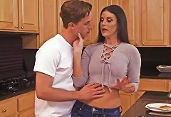 Mom In Jeans India Summer Fucks Son In The Kitchen Porn Video 731