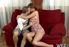 Making Out Comply A Very Sexy Babe