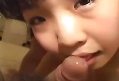 Petite Asian Cutie Gets Humped And Filmed After Licking Feet