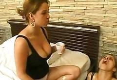 Brazil Lesbian Human Sink Toothbrush Spitting Part1