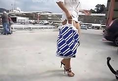 Lexo Wife Exibitionist Buttpluging
