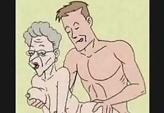 Granny Loves Anal Sex- Cartoon Animation